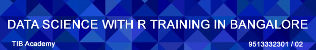 Datascience with R training in bangalore