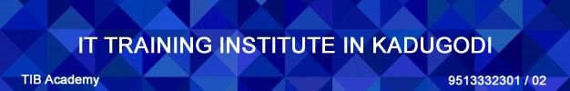 Best IT Training Institute in KADUGODI