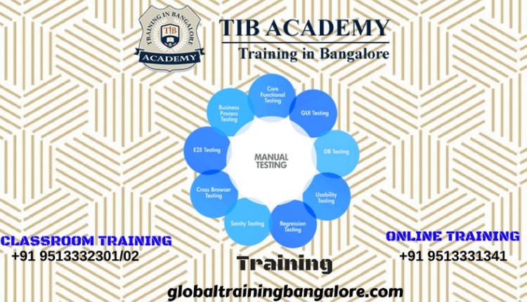 Manual Testing training institute in Bangalore