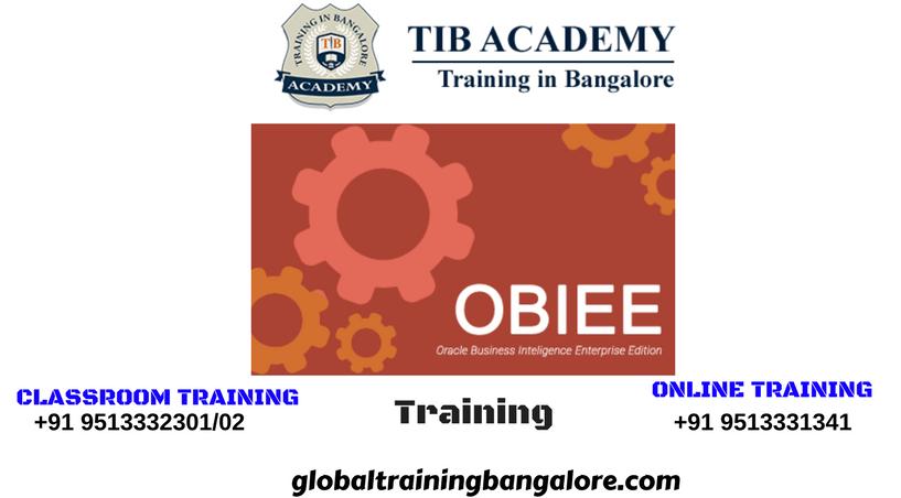 Best training institute in Bangalore for OBIEE   OBIEE