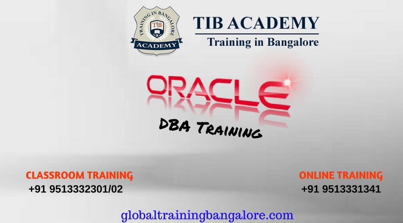 Best Institute for Oracle DBA Training in Bangalore with