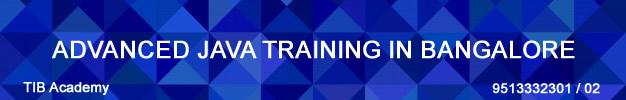 advanced java training in bangalore