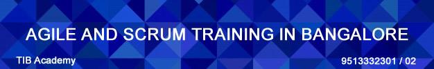 agile and scrum training in bangalore