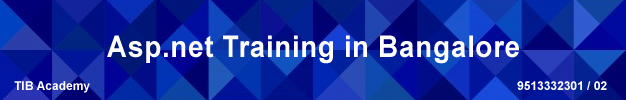 ASP.NET training in bangalore