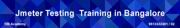 jmeter testing training in bangalore
